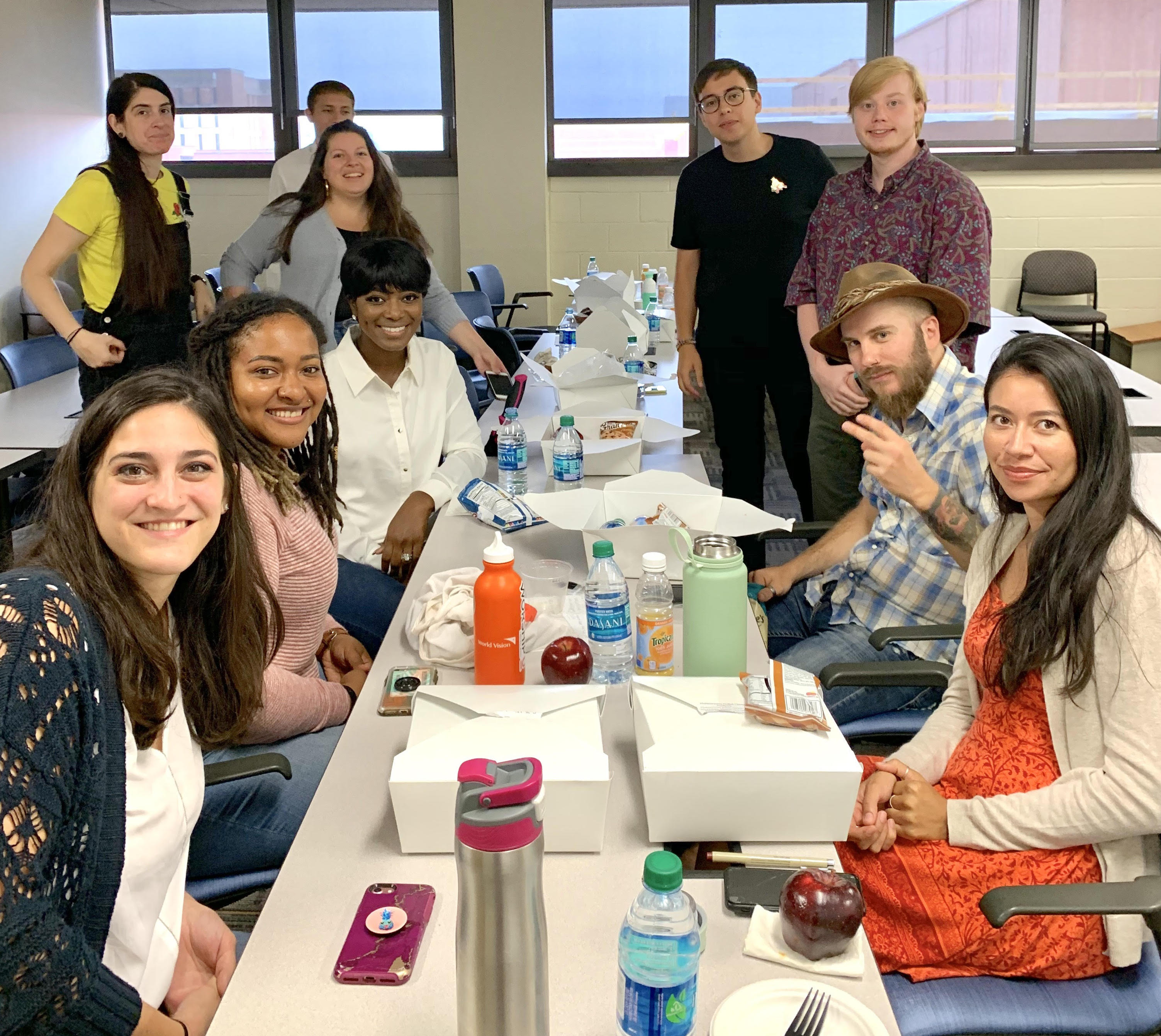 OUR SECOND YEAR INCC STUDENTS WELCOME THE NEW 2019 COHORT